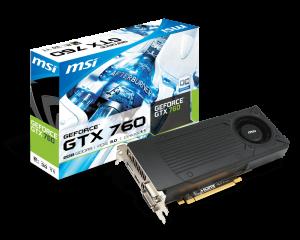 MSI Nvidia GTX760 2GD5_OC