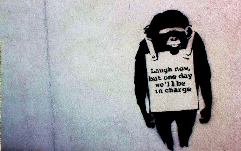 Banksy mono