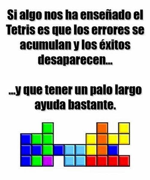 tetris enseñanzas