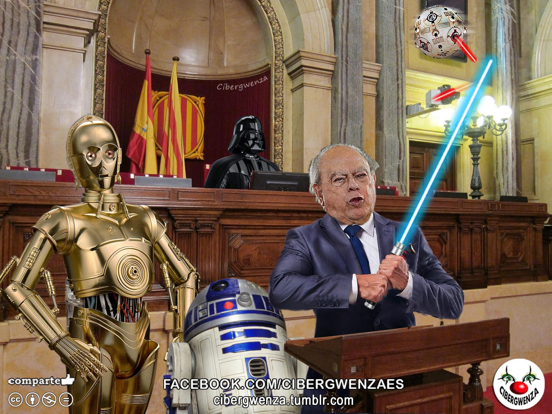Jedi Pujol comparece ante el Parlament de Catalunya