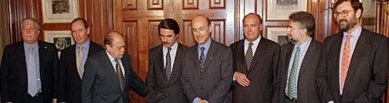 Pacto del Majestic, año 1996.