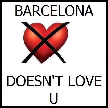 Barcelona no te ama