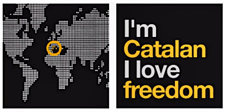 I'm catalan I love freedom