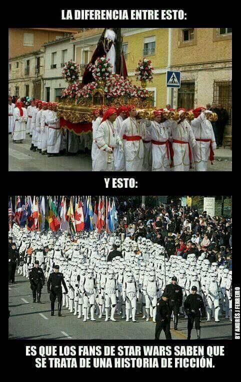 procesiones diferentes