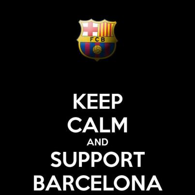 keep calm and suport f.c.barcelona